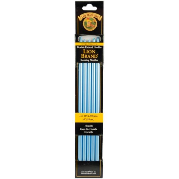 "Double Point Knitting Needles 8"" 5/Pkg"