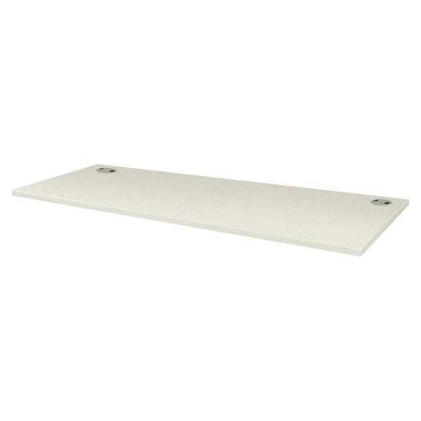 HON Voi Collection White Rectangular Worksurface