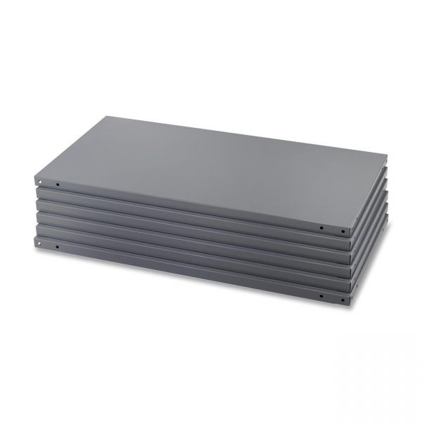 Safco Heavy-Duty Industrial Steel Shelves