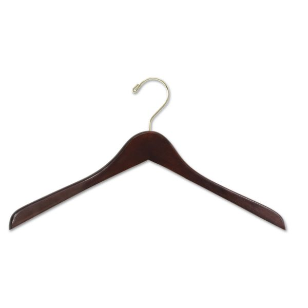 Safco Wood Hangers, 8/Pack
