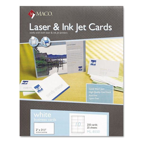 Maco Business Cards