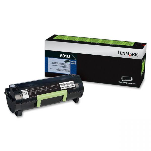 Lexmark 501U Black Ultra High Yield Return Program Toner Cartridge (50F1U00)
