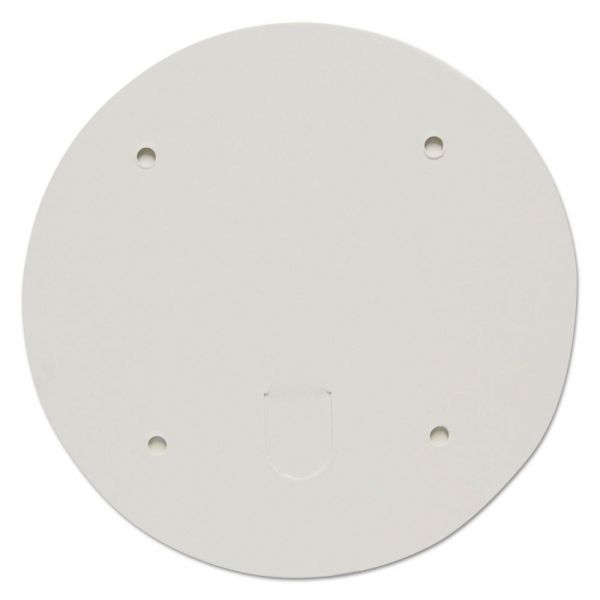 """Dart Paper Lids for 83oz Food Containers, White, Vented, 7.2"""" Dia, 100/Carton"""