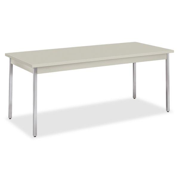 HON Metal Utility Table  30D x 72W