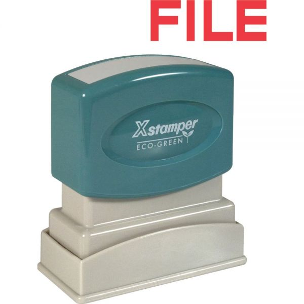 Xstamper FILE Title Stamp