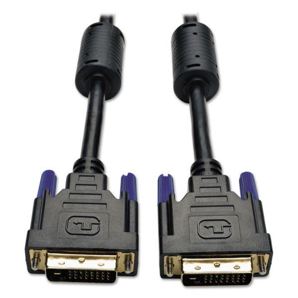 Tripp Lite Pc / mac dvi dual link tmds cable, dvi-d, m/m, 6ft.