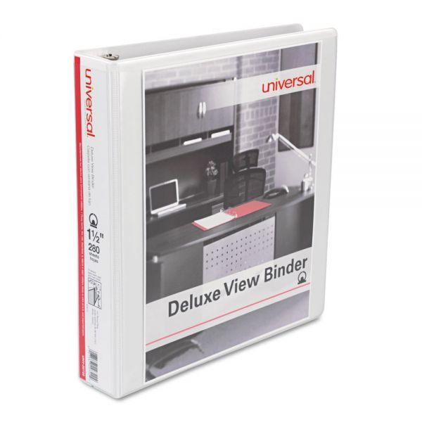 """Universal Deluxe 1 1/2"""" View Binder"""