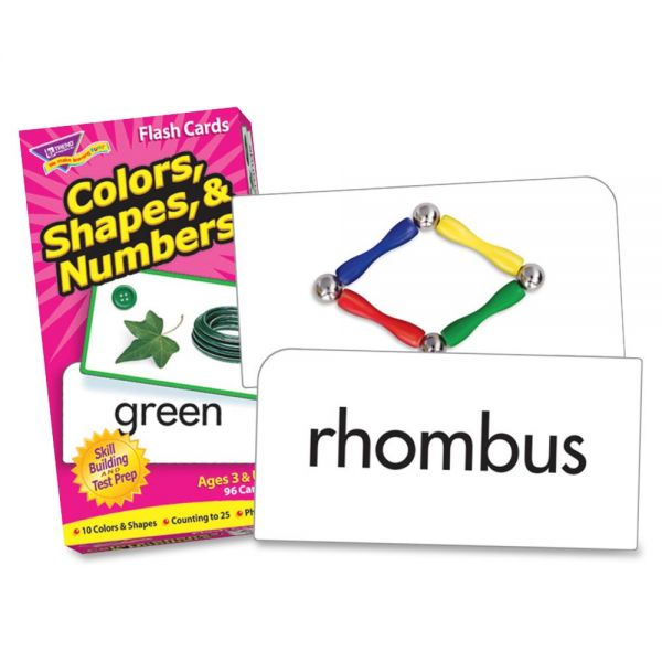 Colors, Shapes, & Numbers Skill Drill Flash Cards