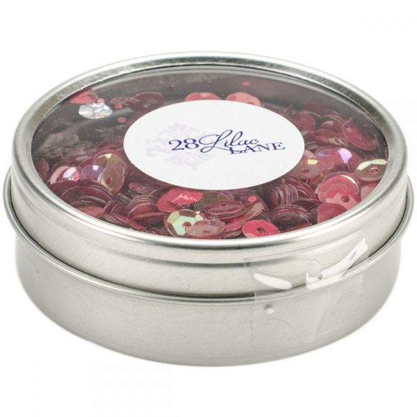 28 Lilac Lane Tin W/Sequins 40g