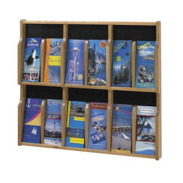 Safco Expose 12 Pamphlet Display Rack