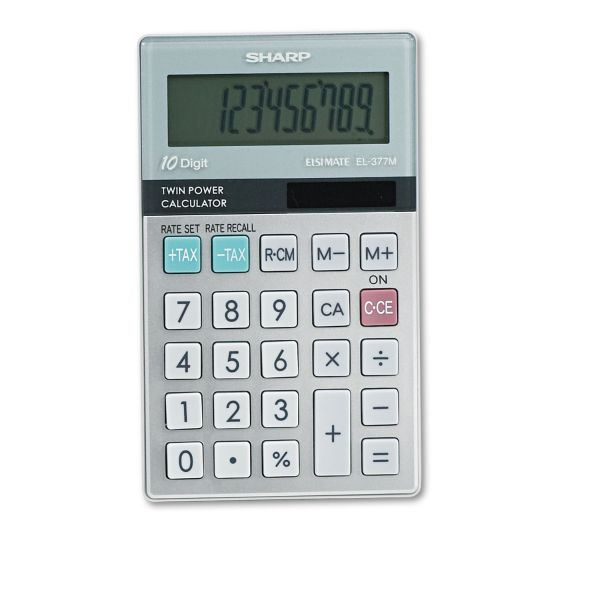 Sharp EL376G Pocket Calculator