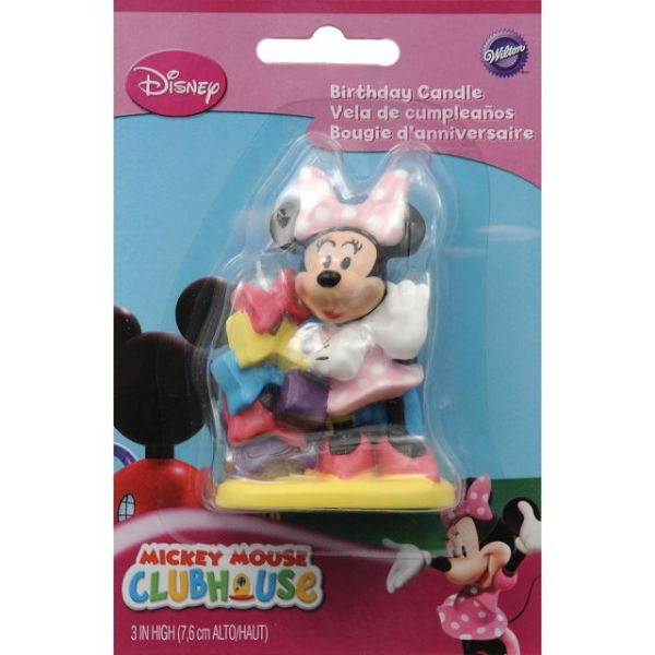 Minnie Birthday Candle
