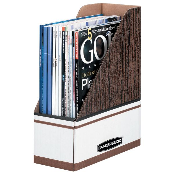 Bankers Box Magazine Files - Letter