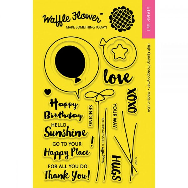 "Waffle Flower Crafts Clear Stamps 4""X6"""