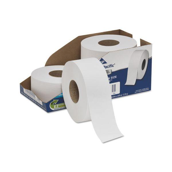 Georgia Pacific Professional White Jumbo Toilet Paper Rolls