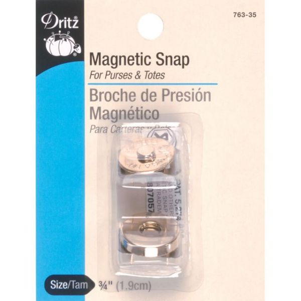 "Round Magnetic Snap 3/4"" 1/Pkg"