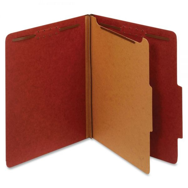 Globe-Weis Recycled Pressboard Classification File Folders