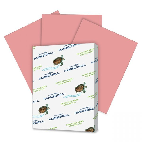 Hammermill Super-Premium Colored Paper - Cherry