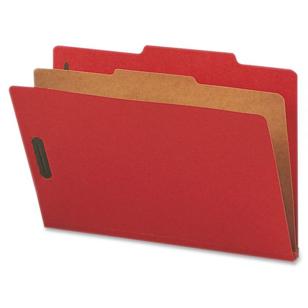 Nature Saver Top-Tab Bright Red Classification Folders