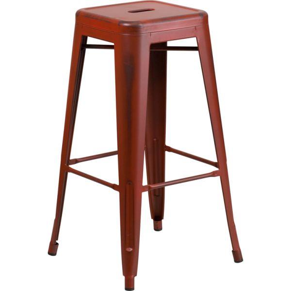 Flash Furniture 30'' High Backless Indoor-Outdoor Barstool
