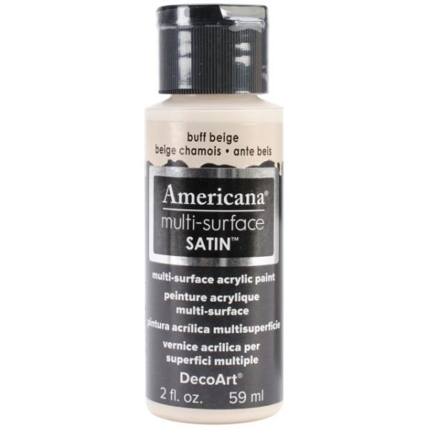 Deco Art Buff Beige Americana Multi-Surface Satin Acrylic Paint