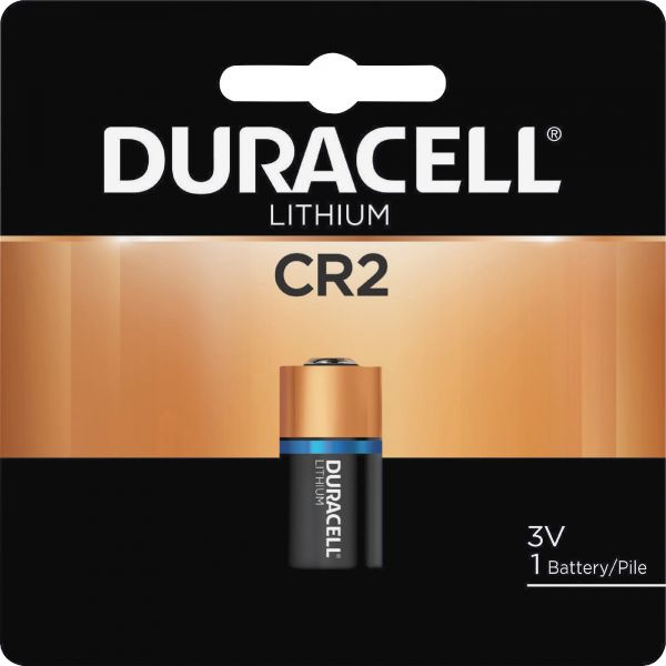 Duracell Ultra High Power Lithium Battery, CR2, 3V, 1/EA