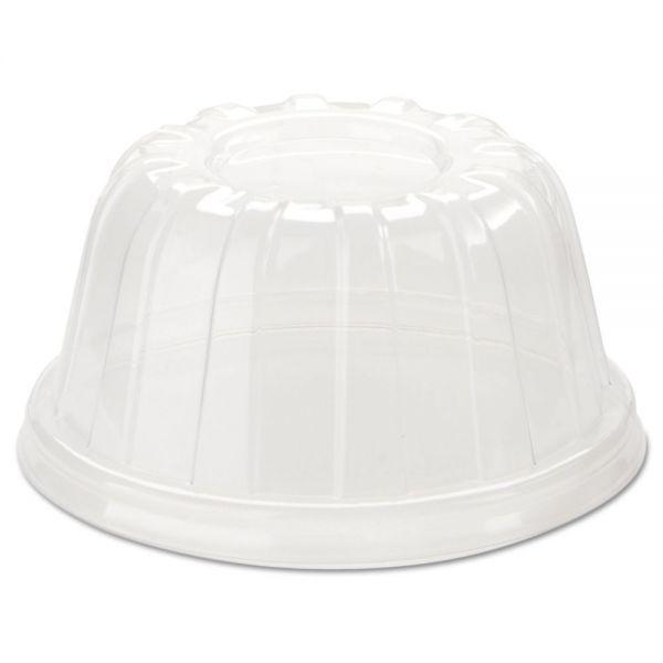 Dart D-T Sundae/Cold Cup Lids, 5-32oz Cups, Clear, 1000/Carton