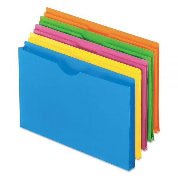 Pendaflex Glow Poly File Jackets