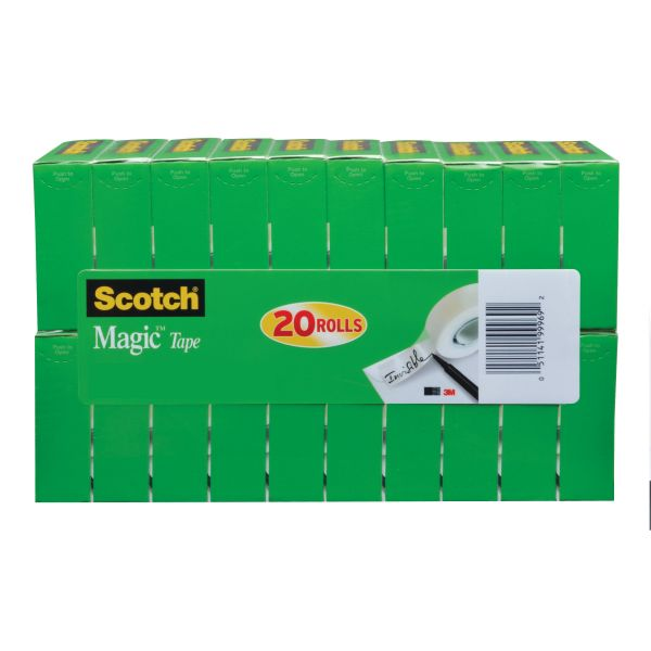 "Scotch 3/4"" Magic Tape Refills Value Pack"