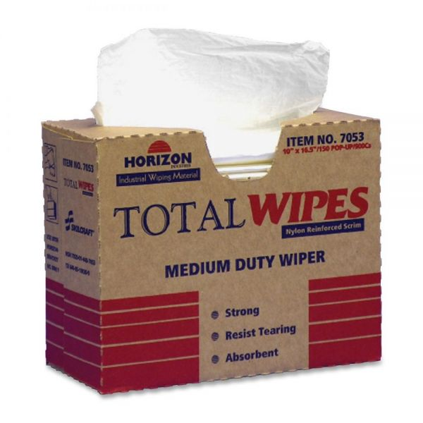 SKILCRAFT Total Wipes Medium-Duty Wiping Towels