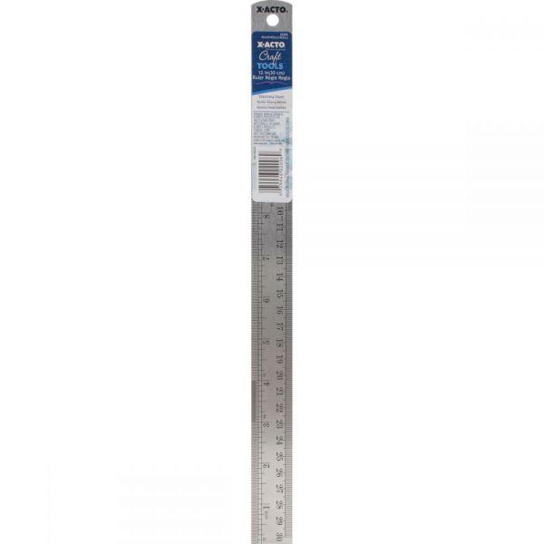 """X-ACTO(R) Designer Series Metal Ruler 12"""""""