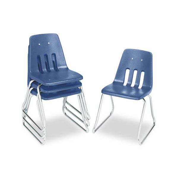 9600 Series Classroom Plastic Stacking Chairs