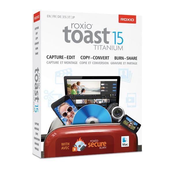 Roxio Toast v.15.0 Titanium