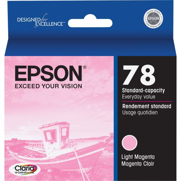 Epson 78 Light Magenta Ink Cartridge
