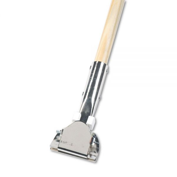UNISAN Clip-On Swivel Head Dust Mop Handle