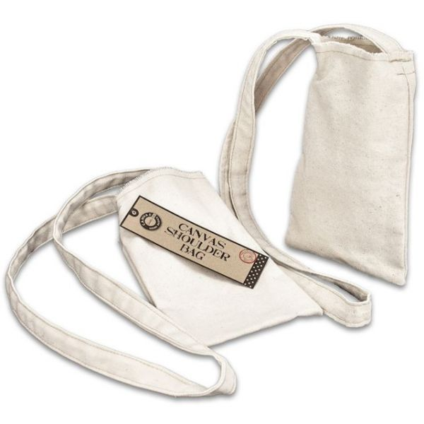 "Canvas Small Shoulder Bag 5""X8"""