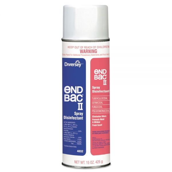 Diversey End Bac II Spray Disinfectant