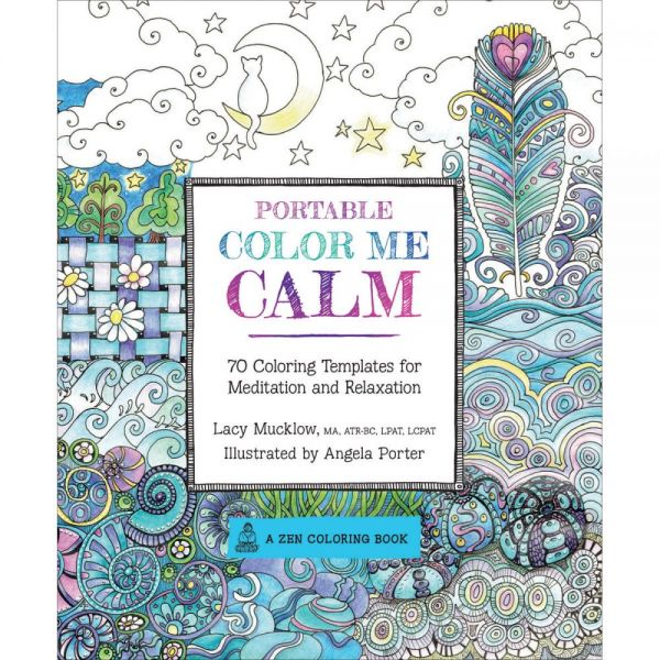 Race Point Publishing Books: Portable Color Me Calm Coloring Book