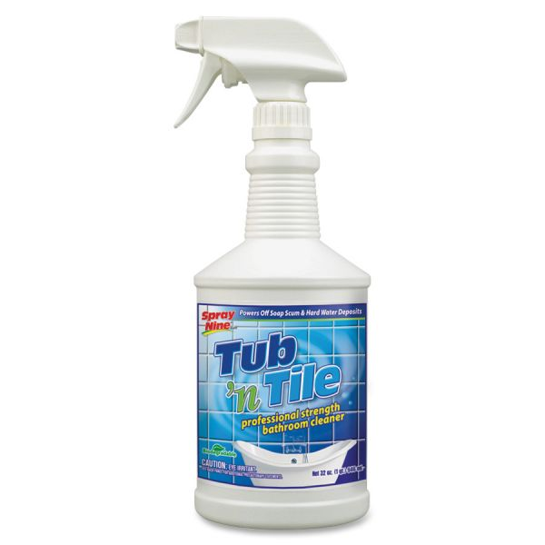 Spray Nine Permatex Tub 'N Tile Bathroom Cleaner