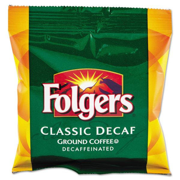 Folgers Ground Coffee Packs - Decaf