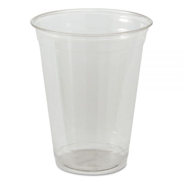 Genpak Crystal Choice Clear 16 oz Plastic Cold Cups