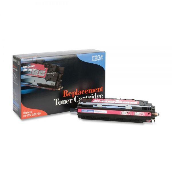 IBM Remanufactured HP Q2673A Magenta Toner Cartridge