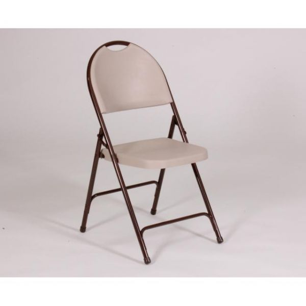 Correll Four Folding Injection Molded Chairs