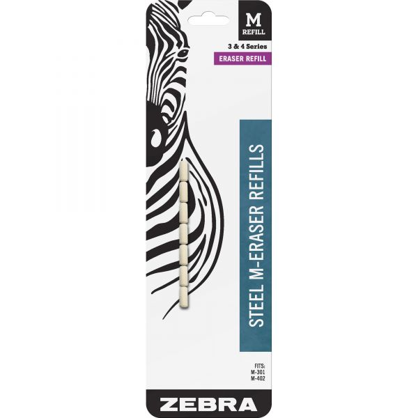 Zebra Pen M-301/M-401 Mechanical Pencil Eraser Refills
