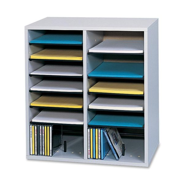Safco Adjustable Shelf Literature Organizer