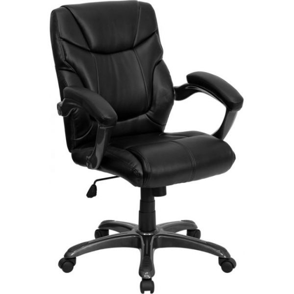 Flash Furniture Mid-Back Overstuffed Office Chair
