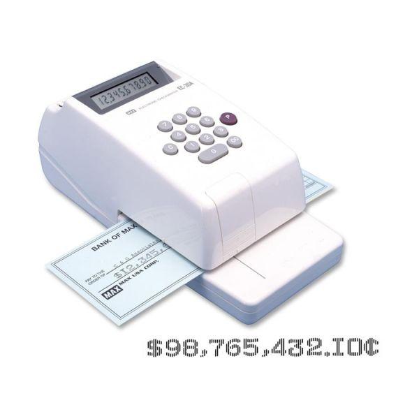 MAX 10-digit Print Electronic Check Writer