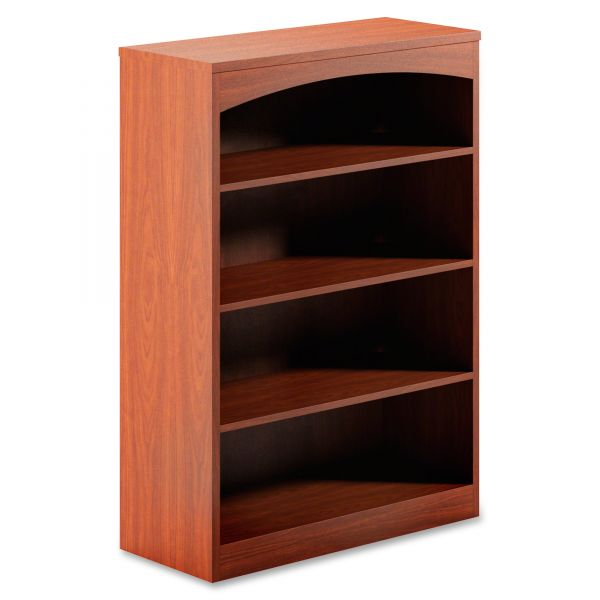 Mayline Brighton Series 4-Shelf Bookcase