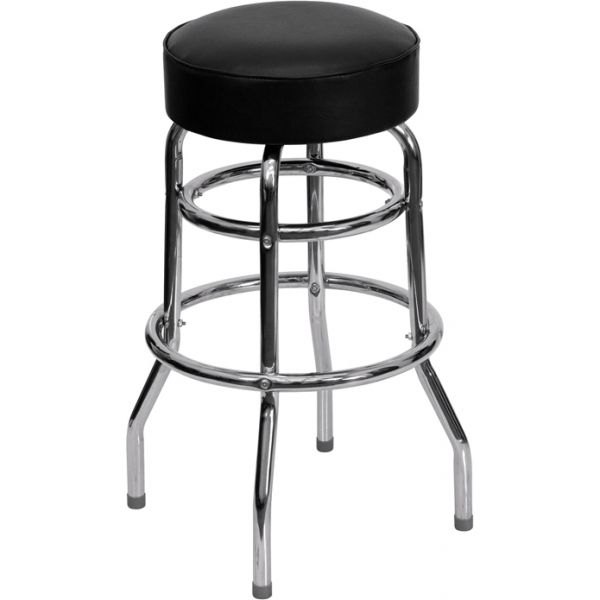 Flash Furniture Double Ring Barstool