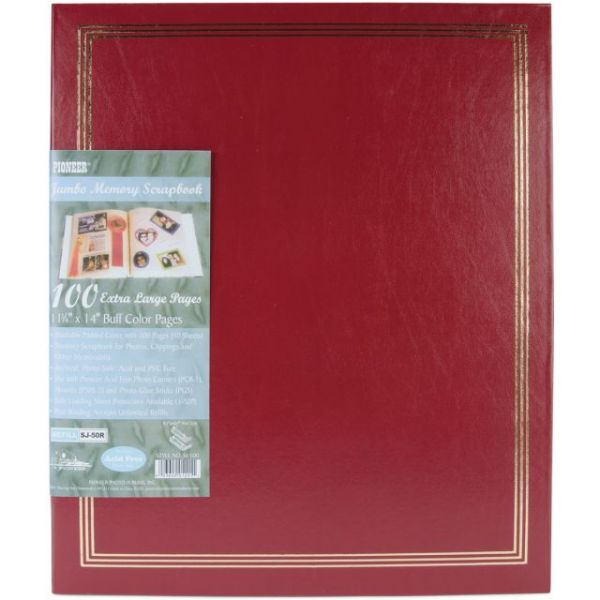 Post Bound Jumbo Memory Scrapbook